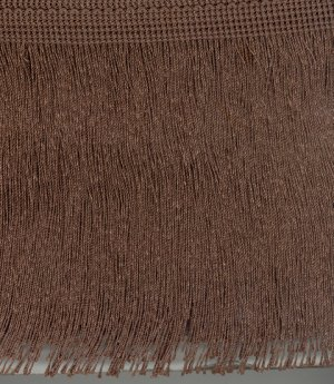 150mm Cut Fringe Dark Brown