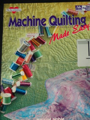 X Machine Quilting Made Easy!