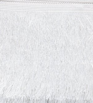 150mm Cut Fringe White
