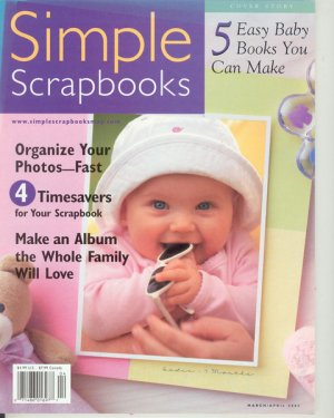 Scrapbooks Mar/Apr 2002 Vol 1 Issue 2