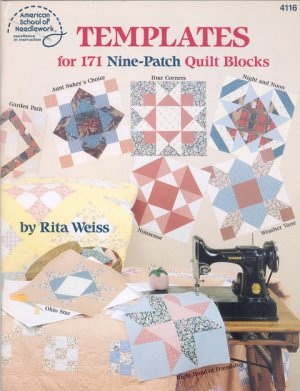 Templates for 171 Nine-Patch Quilt Blocks