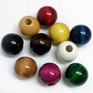 40mm W-Beads Mixed 25p