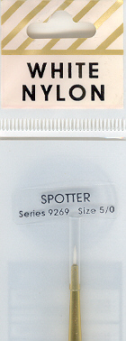 Crafters Choice White Nylon Spotter5/0