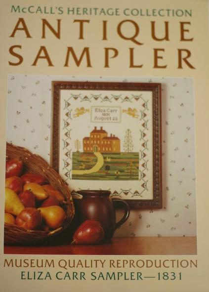 Antique Sampler 1831
