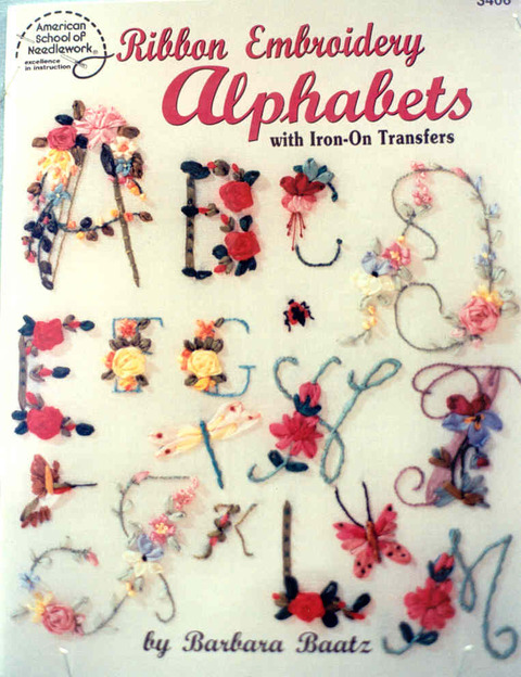 Ribbon Embroidery Alphabets