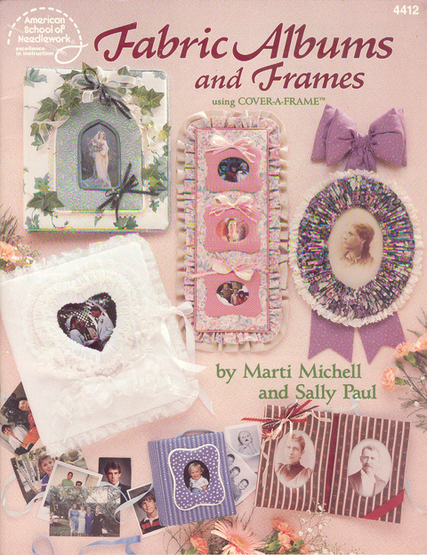 Fabric Albums and Frames