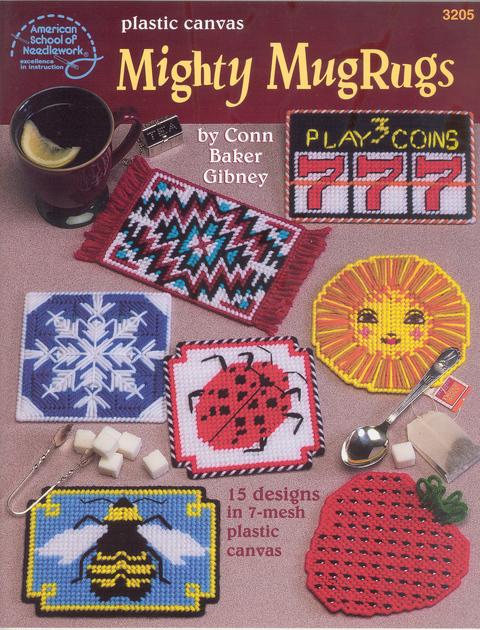 Plastic Canvas Mighty Mug Rugs