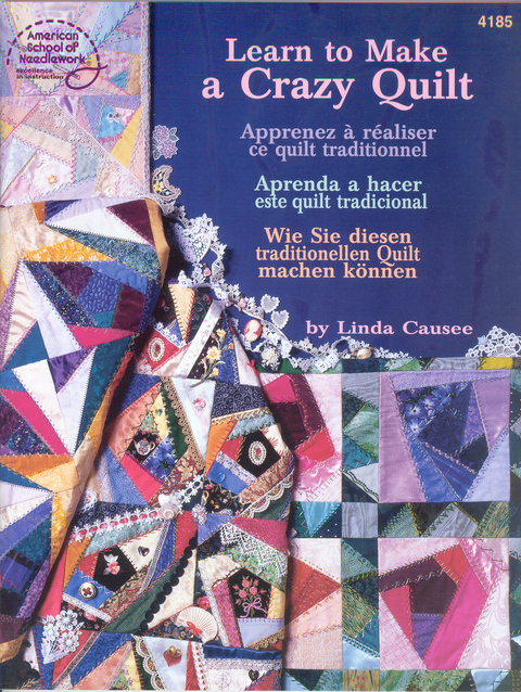 Learn to Make a Crazy Quilt