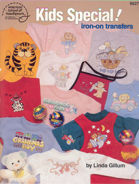 Kids Special ! iron-on transfers