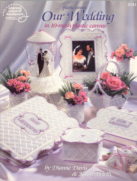 Preloved Flower Girl Baskets : Plastic canvas our wedding asn pioneer craft