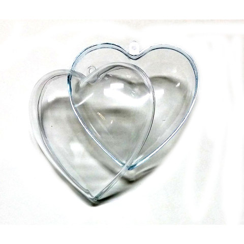 Crystal Heart 100mm 12p