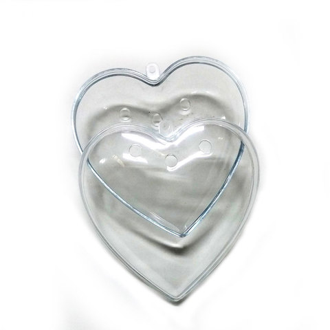 Crystal Pt Pourri Heart 100mm 12p