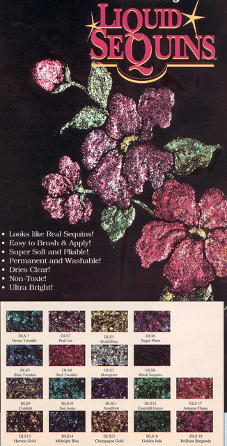 Liquid Sequins Kit 108 bottles
