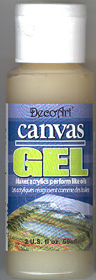 DecoArt Canvas Gel 2oz