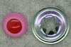 12mm Pink/Red Cry Eye 50p