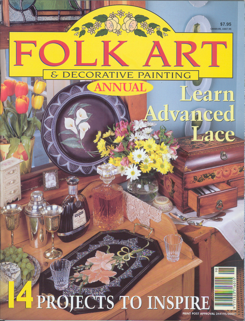 Folk Art & Decorative Painting Annual 1998 Vol 4 No 3