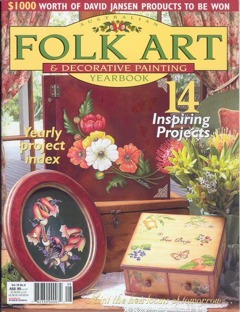 Books folk art artists accessories pioneer craft for Folk art craft paint