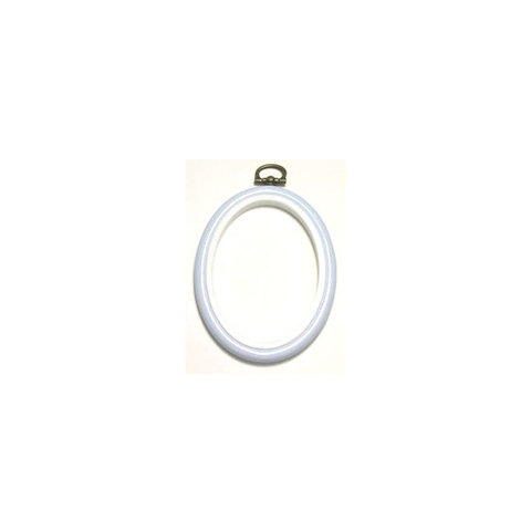 Flexi Hoop Oval 2 x 3in L Blue 1p