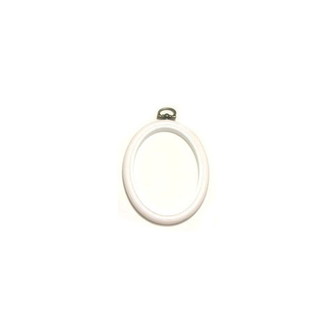 Flexi Hoop Oval 2 x 3in White 1p