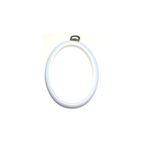 Flexi Hoop Oval 4 x 5.5in L Blue 1p