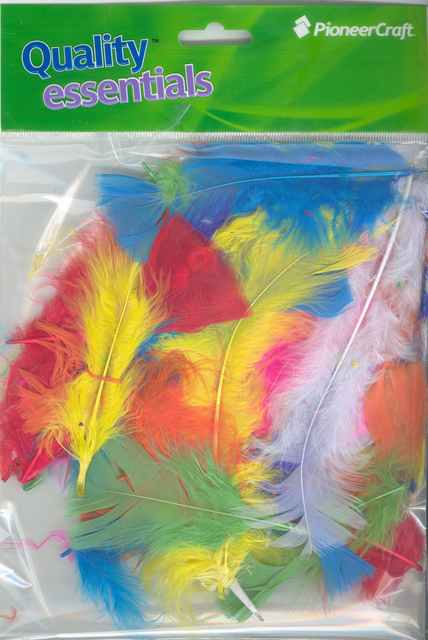 Turkey Feathers Assorted Mix 7grams