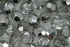 6mm Faceted Beads Silver 100g
