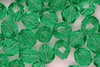 6mm Faceted Beads Green 100