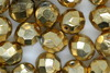 8mm Faceted Beads Gold 100g
