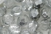 8mm Faceted Beads Silver 100g