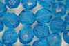 8mm Faceted Beads Blue 100g