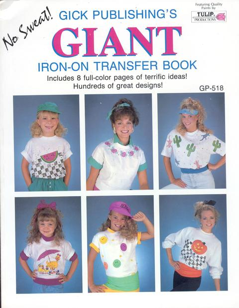 Giant Iron-on Transfer Book