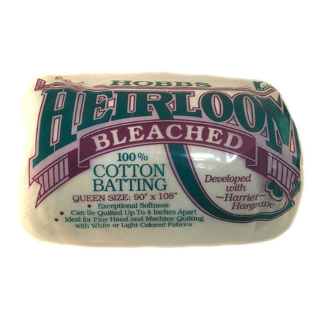 Heirloom 100% Bleached Cotton
