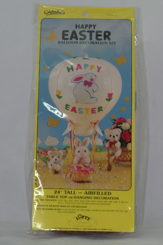"Happy Easter Balloon Decorating Kit 24"" Tall"