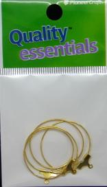 Ear Hoop 25mm Gold