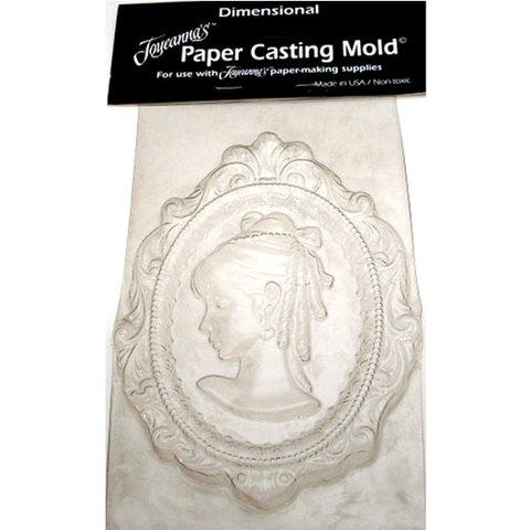 Paper Mould Cameo