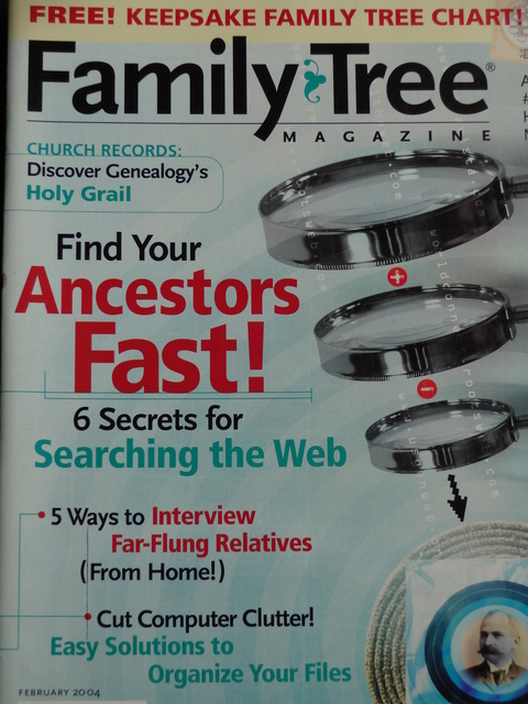 Family Tree Magazine February