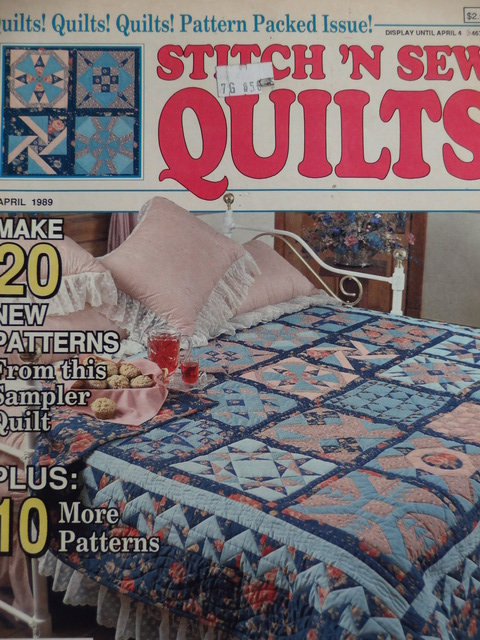 Stitch 'N Sew Quilts April 1989