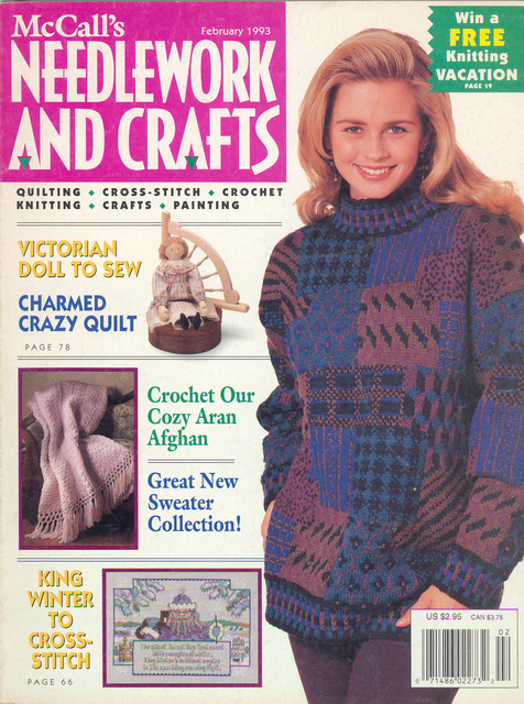 McCalls Crafts February 1993