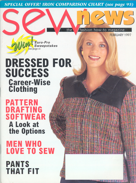 Sewing News February 1997