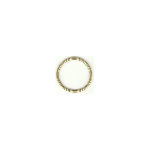 38mm Ring Brass Plated, 100 piece.