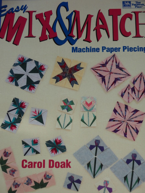 X Easy Mix & Match Paper Piecing