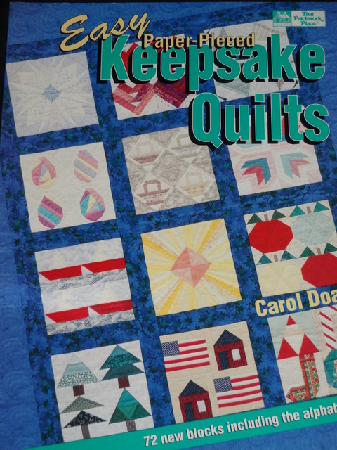 X Easy Paper-Pieced Keepsake Quilts