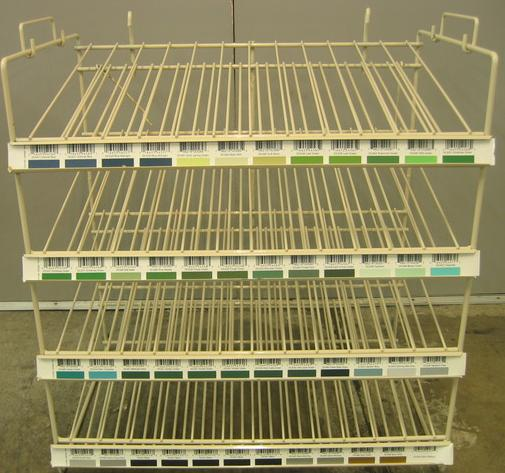 Empty Crafters Acrylic Rack - holds 48 x 2oz bottles