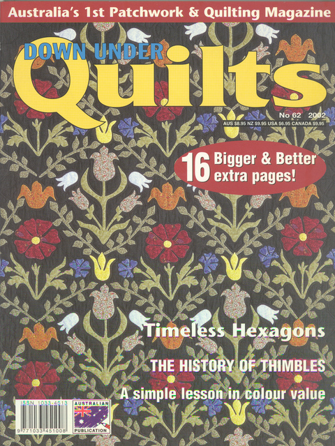 Down Under Quilts 2002 No 62