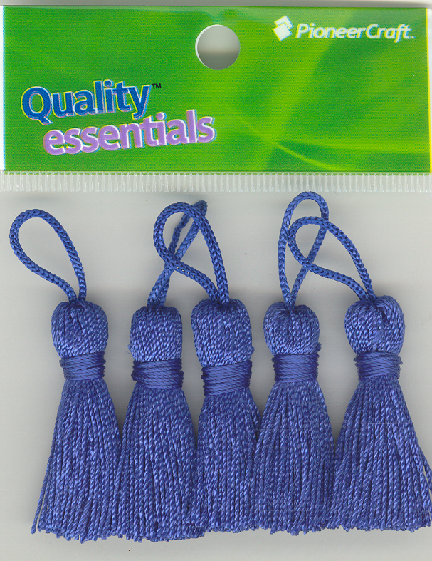 Tassels 35mm 75 Royal