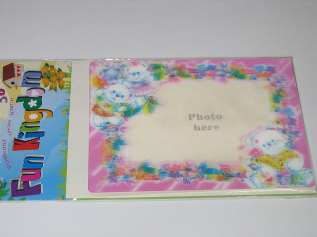 Postcard Frame with Stand