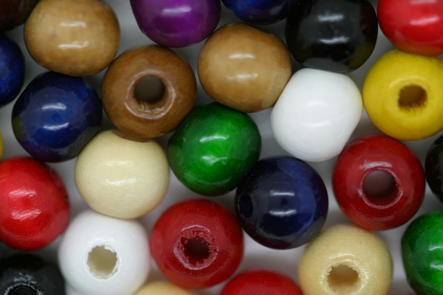 8mm W-Beads Mixed